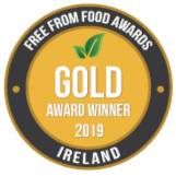 Free From Food Awards Ireland - 2019 Gold Award Winner
