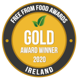 Free From Food Awards Ireland - 2020 Gold Award Winner